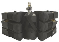 Paintball Australia er 6+1 bottle holder pack