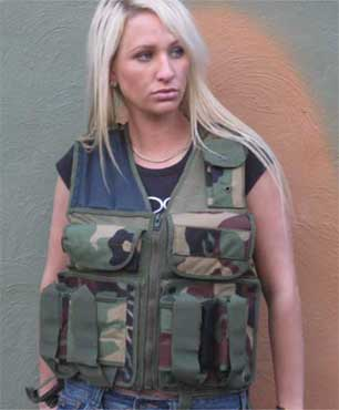 Paintball Australia tactical vest 100