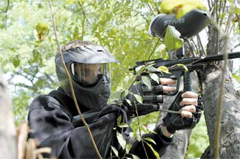 paintball beginner player gear from paintball australia
